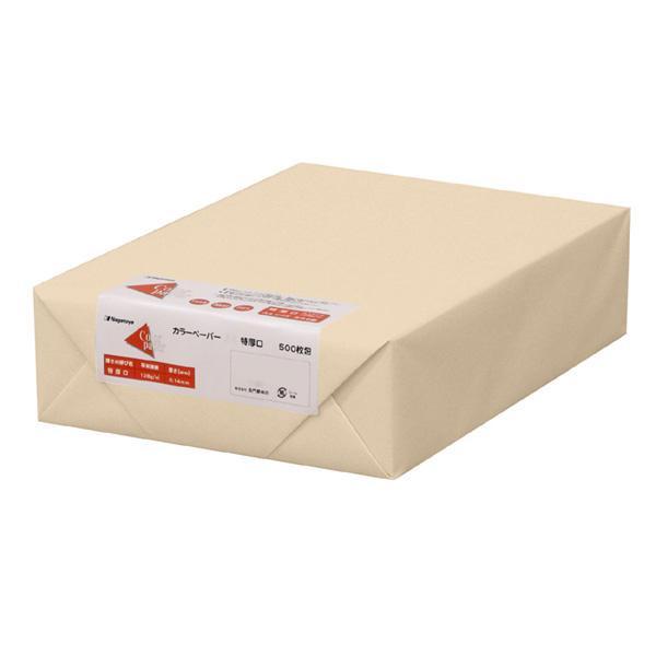 【直送品】【代引き不可】長門屋商店 カラーペーパー B5 特厚口 アイボリー 500枚パック ナ-4465ご注文後3~4営業日後の出荷となります