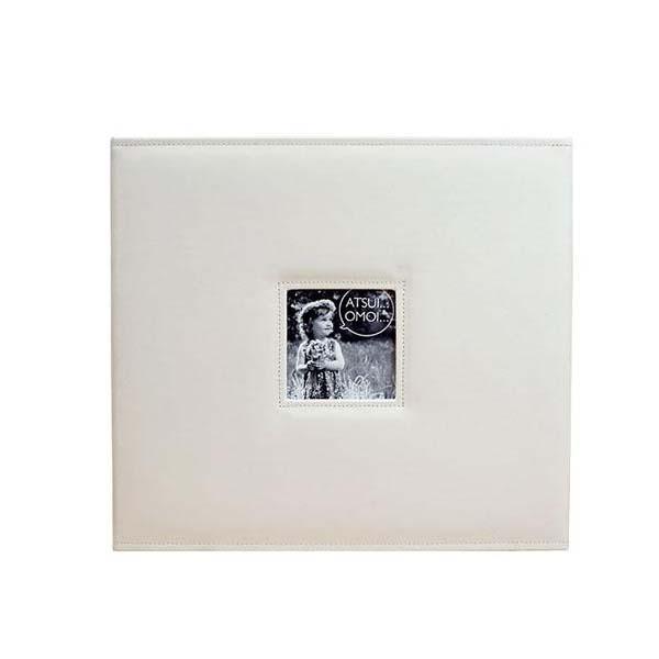 【直送品】【代引き不可】メガアルバム1200 ATSUIOMOI WHITE 105293ご注文後3~4営業日後の出荷となります