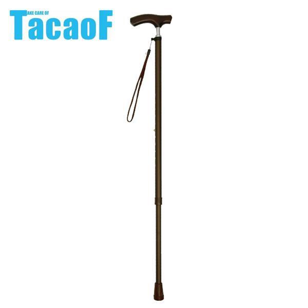 【直送品】【代引き不可】幸和製作所 テイコブ(TacaoF) 伸縮ステッキ(首細) EN13 ブラウンご注文後2~3営業日後の出荷となります