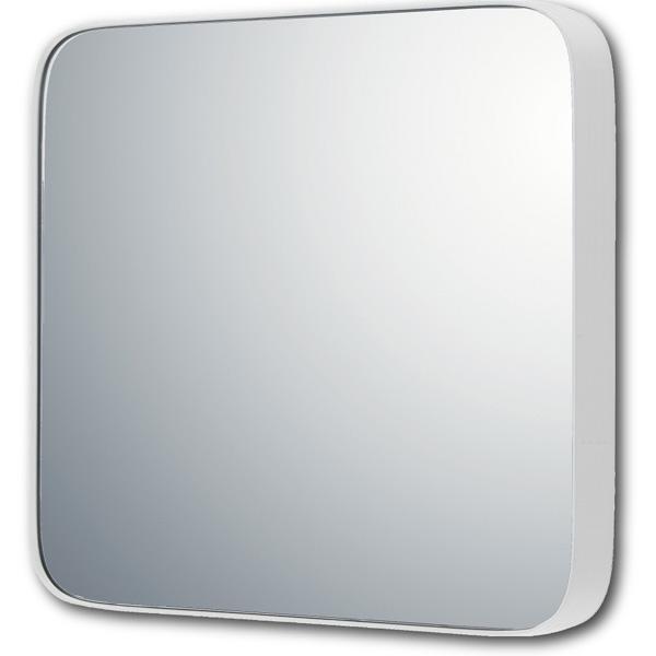 【直送品】【代引き不可】ユーパワー スリムライン ミラー ラウンドコーナーM(グロスホワイト) SM-08041ご注文後3~4営業日後の出荷となります