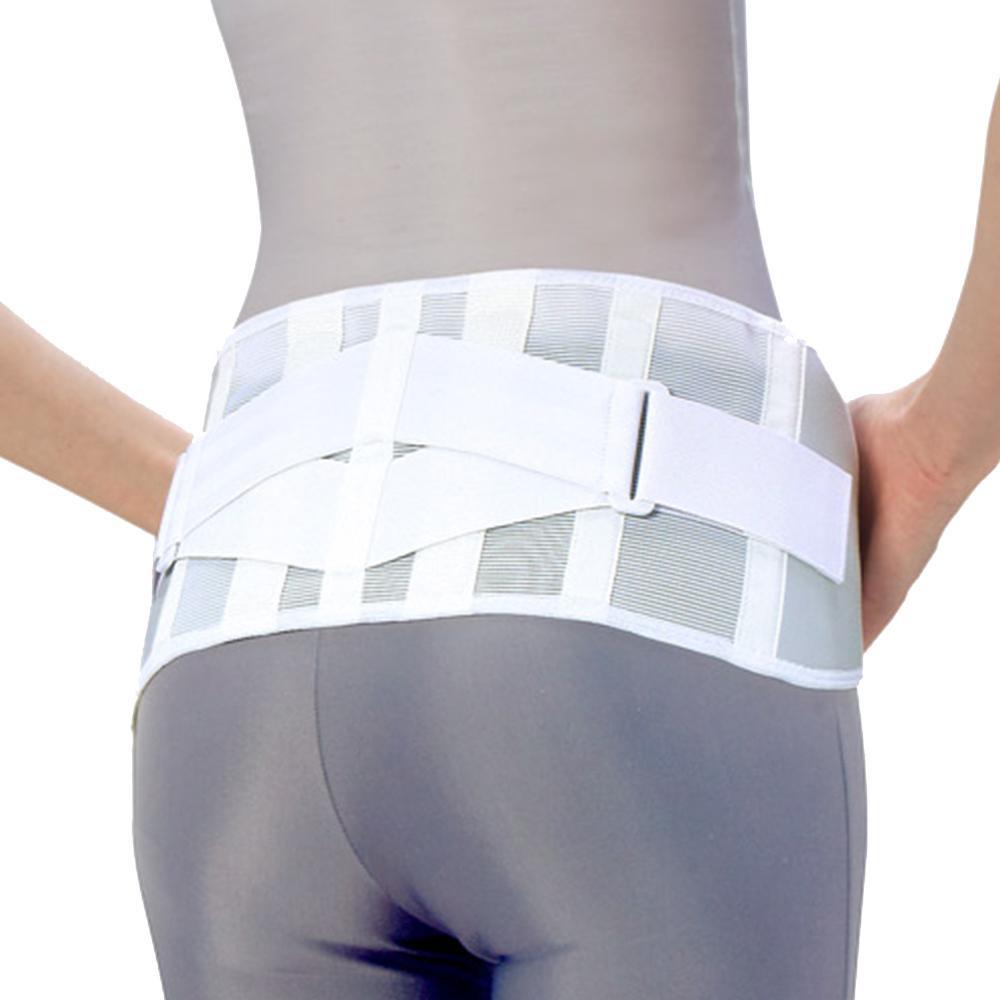 【直送品】【代引き不可】中山式 腰椎医学(R) コルセット 滑車式スリムライト 白ご注文後3~4営業日後の出荷となります