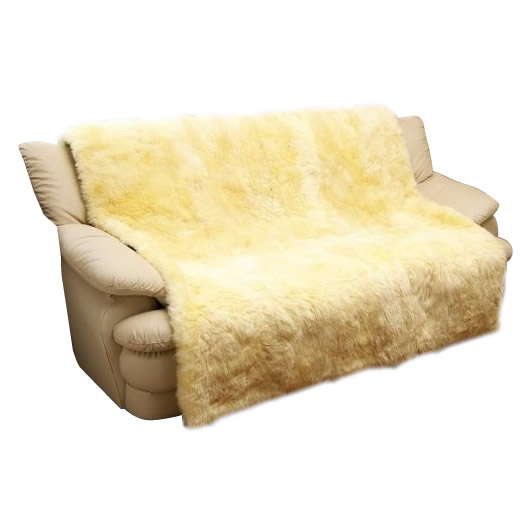 【直送品】【代引き不可】ムートン椅子カバー 160×160cm MG7160ご注文後2~3営業日後の出荷となります