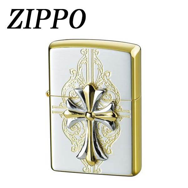 【直送品】【代引き不可】ZIPPO クロスコンビメタル (4)ご注文後3~4営業日後の出荷となります