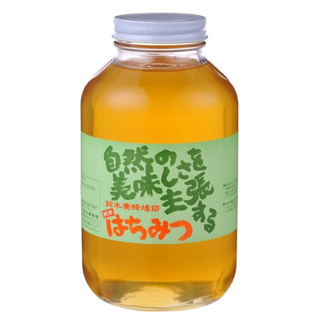 【直送品】【代引き不可】鈴木養蜂場 はちみつ(お徳用) アカシア(AK) 2.4kgご注文後3~4営業日後の出荷となります