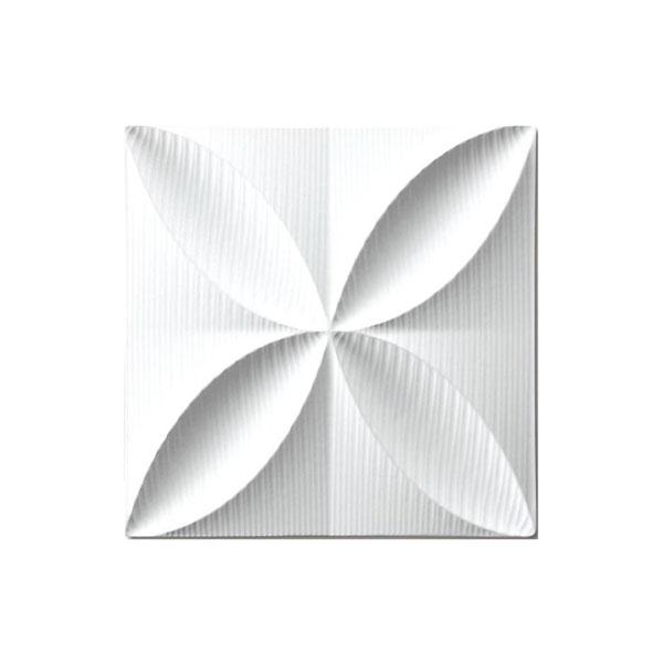 【直送品】【代引き不可】ユーパワー プラデック ウォール アート エコー(ホワイト) PL-05811ご注文後3~4営業日後の出荷となります