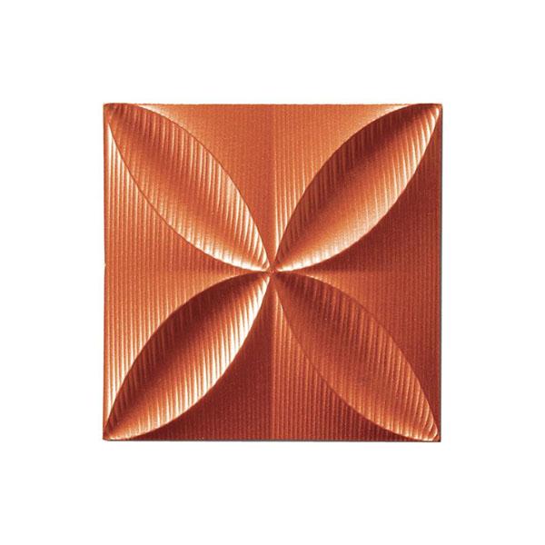 【直送品】【代引き不可】ユーパワー プラデック ウォール アート エコー(メタルオレンジ) PL-05814ご注文後3~4営業日後の出荷となります
