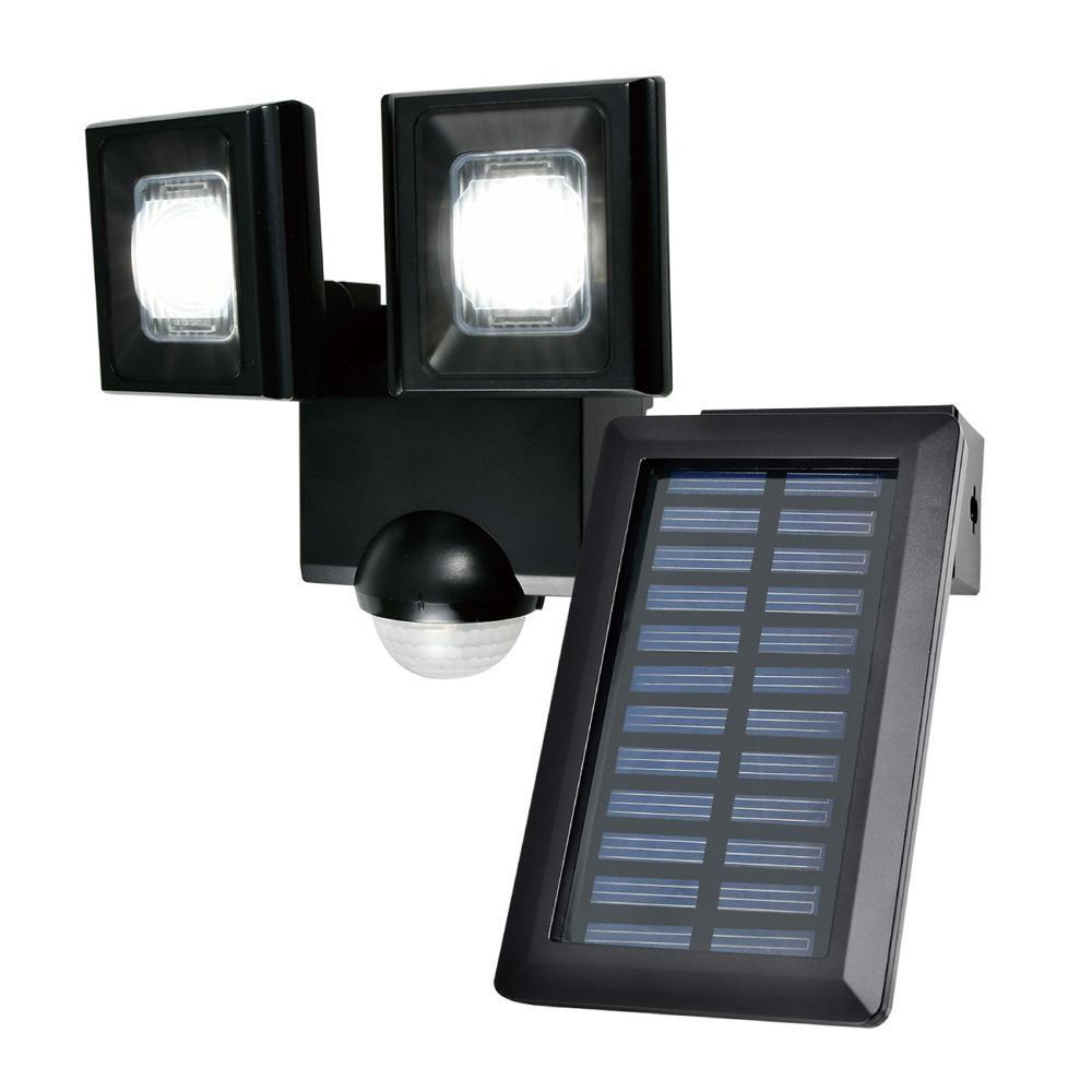 【直送品】【代引き不可】ELPA(エルパ) 屋外用LEDセンサーライト ソーラー発電式 ESL-N112SLご注文後3~4営業日後の出荷となります