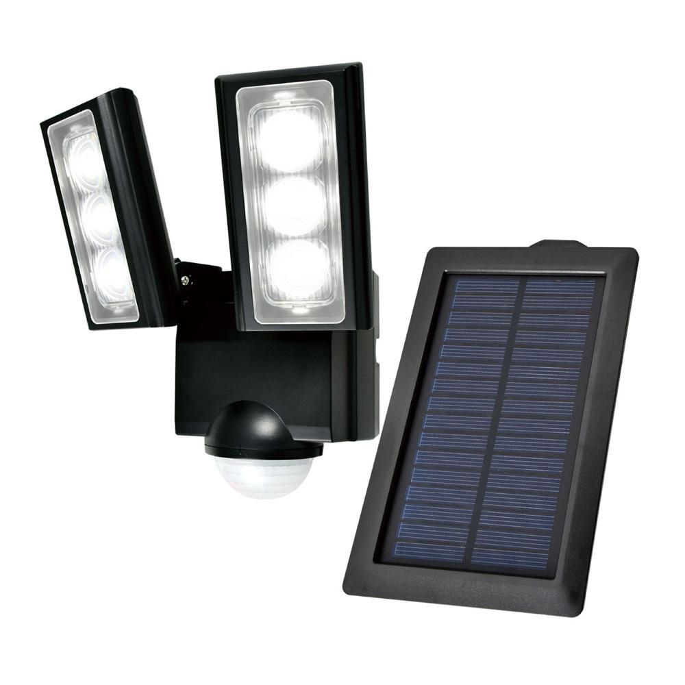 【直送品】【代引き不可】ELPA(エルパ) 屋外用LEDセンサーライト ソーラー発電式 ESL-312SLご注文後3~4営業日後の出荷となります