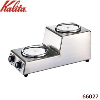 【直送品】【代引き不可】Kalita(カリタ) 1.8L デカンタ保温用 2連ウォーマー タテ型 66027ご注文後2~3営業日後の出荷となります