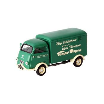 贈り物やコレクションに! 【直送品】【代引き不可】AutoCult/オートカルト Tempo Wiking 1953 ドイツ グリーン/アイヴォリー AT08003ご注文後3~4営業日後の出荷となります