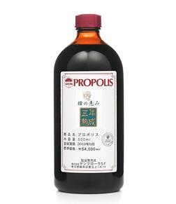 【限定クーポン】蜂の恵み三年熟成プロポリス 500ml