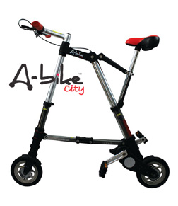 【直送品】【代引き不可】【送料無料】AI-498 A-bike City スピード版(前輪ノーパンク、後輪チューブ)
