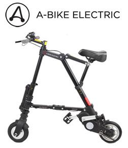 【直送品】【代引き不可】【送料無料】AI-484 A-bike electric 電動アシスト(前輪ノーパンク、後輪チューブ)