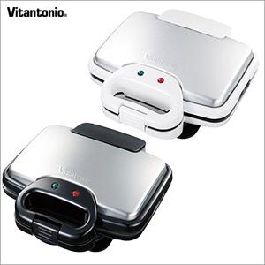 【期間限定クーポン】Vitantonio(ビタントニオ) ワッフル&ホットサンドメーカー VWH-200-W VWH-200-K