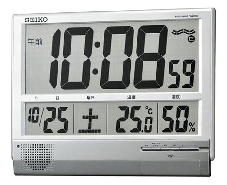 【ポイントアップ】【当日発送】電波掛置兼用時計 セイコーデジタル SQ419S【内祝い】【お返し】【お祝い】【ギフト】【贈り物】【プレゼント】【ご挨拶】【法事】【結婚】