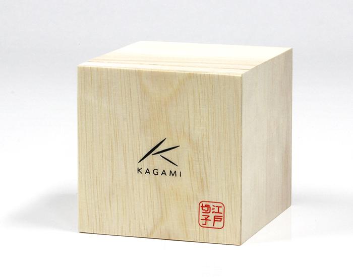● カガミクリスタル 江戸切子 ダブルウィスキー <八角籠目紋>