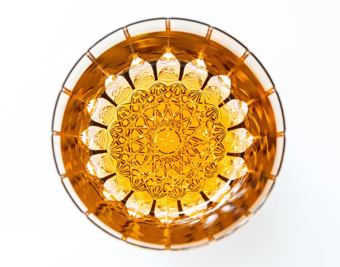 ●カガミクリスタルロックグラス(T705-2818-BLK)