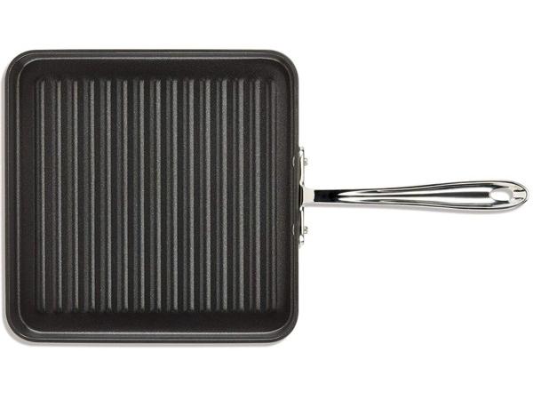 All-Clad オールクラッド ノンスティック 28cmスクエアグリル 四角いグリルパン HA1 シリーズ
