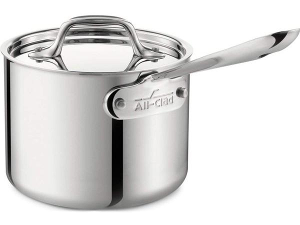 All-Clad オールクラッド ステンレス・ソースパン1.4リットル片手鍋 Stainlessシリーズ