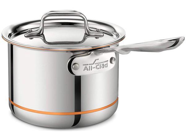 All-Clad オールクラッド 1.9リットル・ソースパン片手鍋 Copper Core シリーズ