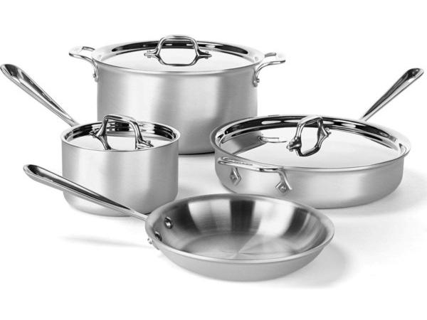 All-Clad オールクラッド クックウェアー4点セット Master Chef-2 シリーズ
