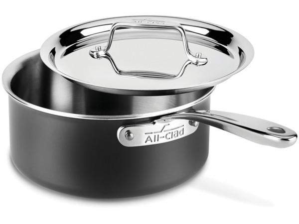 All-Clad オールクラッド ステンレス2.8リットル片手鍋 ソースパン LTD シリーズ