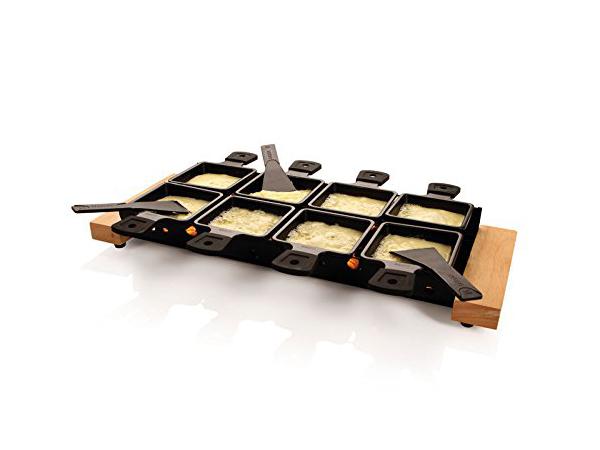 Boska Holland ボスカ チーズ・パーティクレット ミニ・ラクレット8個セット (ヨーロピアン・オーク・ウッド) 852044 ハンディタイプのラクレット