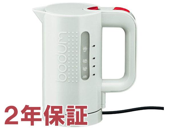 【2年保証】 Bodum ボダム BISTRO 4カップ・エレクトリックケトル (ホワイト) 500cc