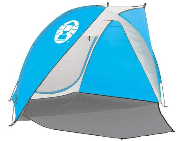 Coleman コールマン ビーチ・シェード (ブルー/ホワイト) 海や山で使えるビーチテント