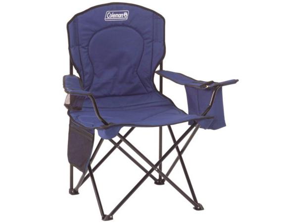 Coleman コールマン アウトドア・チェア (ブルー) クーラーバッグ付き折りたたみ椅子