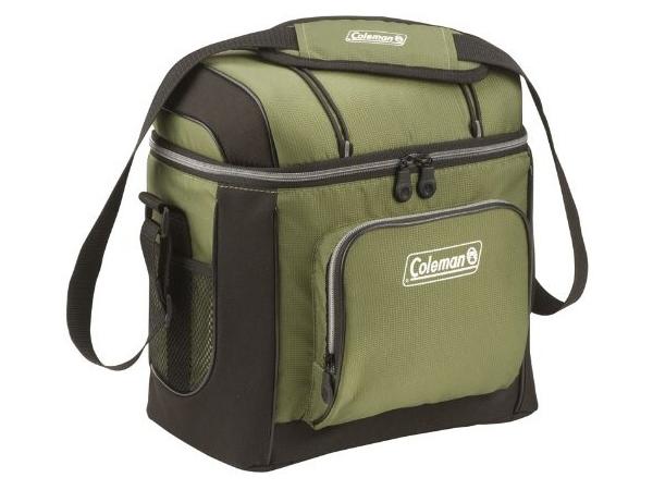 USモデル 低価格化 Coleman コールマン 絶品 ソフトクーラー 缶ジュース16本分 キャリーバッグ 緑