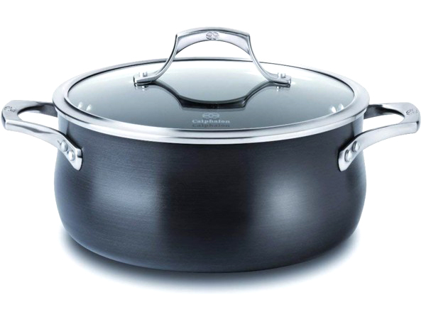 新品即決 Calphalon Nonstick カルファロン 4.7リットル ノンスティック・フタ付き両手鍋 5QTUnison 5QTUnison Nonstick シリーズ シリーズ, MIYABIYA shop and maison:753dd583 --- canoncity.azurewebsites.net