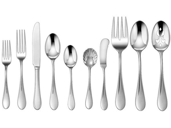 Cuisinart クイジナート Irais カトラリー5点×8組分=45点セットテーブルウェア(ナイフ・フォーク・スプーン)一揃い