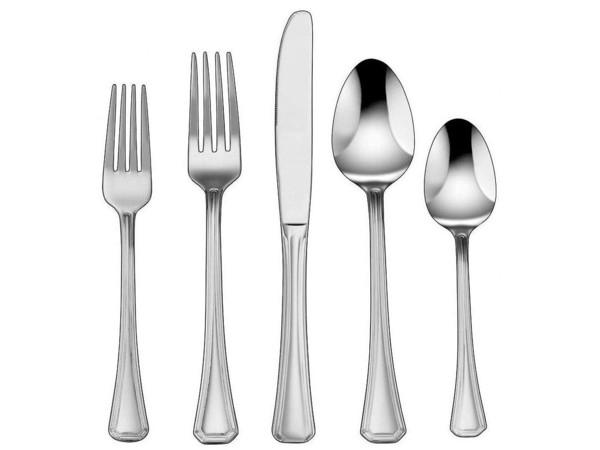Cuisinart クイジナート Jacalyn カトラリー5点×4組分=20本セットテーブルウェア(ナイフ・フォーク・スプーン)一揃い