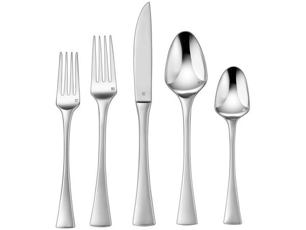 Cuisinart クイジナート Aveline カトラリー5点×4組分=20本セットテーブルウェア(ナイフ・フォーク・スプーン)一揃い