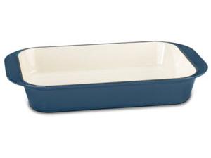 Cuisinart クイジナート ロースティング・ラザニアパン (ブルー)鋳物ホーローウェア