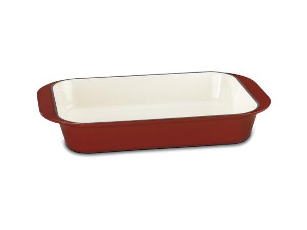 Cuisinart クイジナート ロースティング・ラザニアパン (レッド)鋳物ホーローウェア