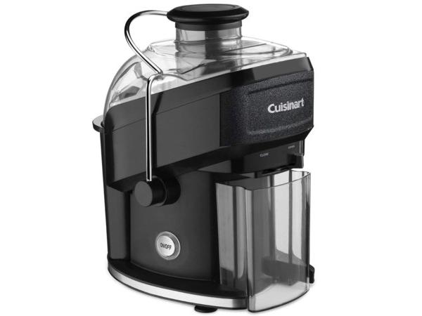 【2年保証】 Cuisinart クイジナート コンパクト・ジューサー (ブラック/シルバー) CJE-500