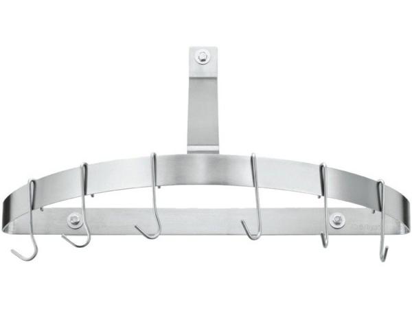 Cuisinart クイジナート 半円形・壁掛け式ポットラック (ステンレス)お鍋やフライパンを吊るせるポットラックです♪