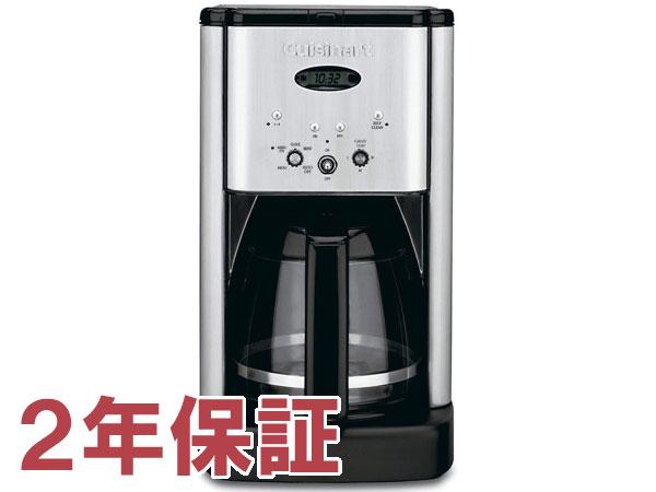 【2年保証】 Cuisinart クイジナート 12カップ・コーヒーメーカー (シルバー) DCC-1200
