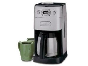 【2年保証】 Cuisinart クイジナート 10カップ・コーヒーメーカー (クロム) DGB-650BC  冷めない魔法瓶タイプ&コーヒーミル機能付き