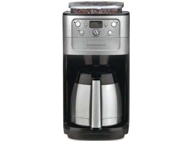 【2年保証】 Cuisinart クイジナート 12カップ オートマチック・コーヒーメーカー (サーマルジャー・タイプ) コーヒーミル機能・タイマー付き!