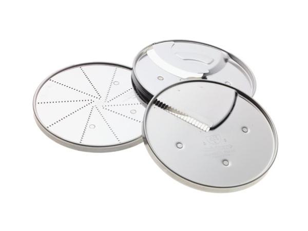 Cuisinart クイジナート フードプロセッサー用スペシャリティ・ディスク3枚セット(適合機種: 7&11カップ・フードプロセッサー)