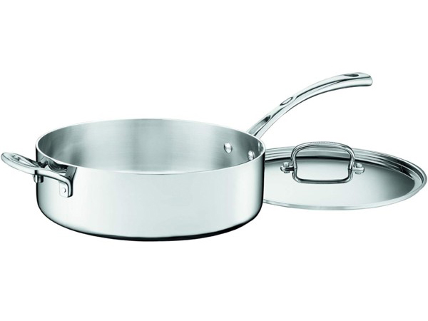 Cuisinart クイジナート 5.2リットル 3層ソテーパン 補助ハンドル付き片手鍋French Classic シリーズ