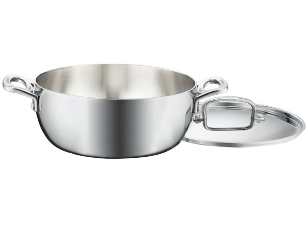 Cuisinart クイジナート 4.2リットル 3層ダッチオーブン 両手鍋French Classic シリーズ