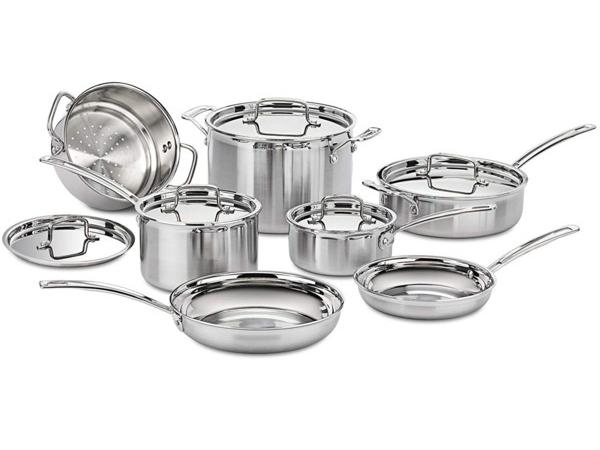 Cuisinart クイジナート ステンレス・クックウェアー7点セットMultiClad Proシリーズ