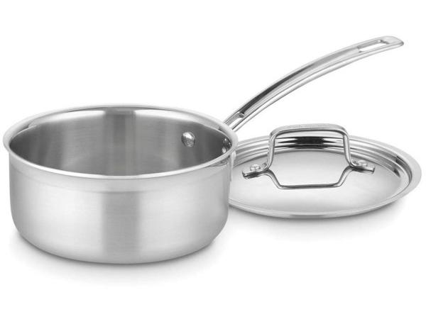 Cuisinart クイジナート 1.4リットル 3層ソースパン 片手鍋MultiClad Proシリーズ
