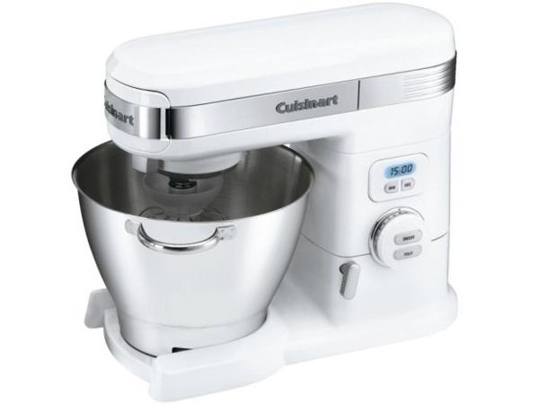 【2年保証】 Cuisinart クイジナート 12スピード5.5QTスタンドミキサー (白) SM-55