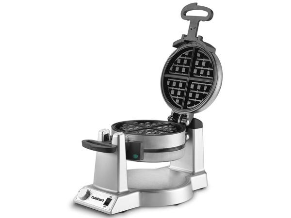 【2年保証】 Cuisinart クイジナート ダブル・ワッフルメーカー丸型 回転式フリップ・タイプ WAF-F20 おすすめです♪