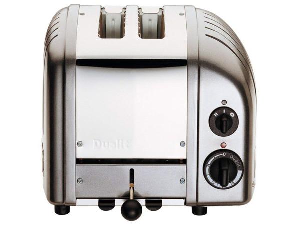 【2年保証・変換プラグ付】 Dualit デュアリット クラシック・トースター 2枚切り (チャコール)